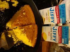 "Copy Cat Boston Market Cornbread:       1 or 2 boxes ""Jiffy Mix Cornbread Mix"" &      1 box ""Jiffy Mix Yellow Cake Mix""    ... that's it!"