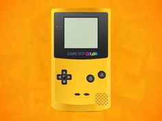 GameBoy Color designed by Mani Bharathi. Portfolio Design, Nintendo Consoles, Graphic Design, Color, Portfolio Design Layouts, Colour, Visual Communication, Colors