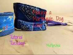 Tutorial Tuesday | Making a martingale dog collar - YouTube