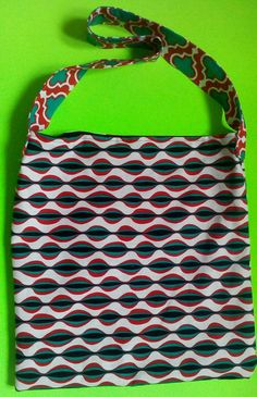 Snake-eye chain print tote w/ crazy phone pocket, Great for Groceries, Sleep overs, camping, sports, road trips, carry on. reversible. by one of a kind larissamyrie.art washable, strong, upcycled, fun, #fashion #style #art #barbie #shoppingbag #totebag #shoulderbag #slowfashion