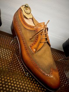 """dandyshoecare: """" Live from Florence by Dandy Shoe Care. Lace Up Shoes, Men's Shoes, Shoe Boots, Dress Shoes, Handmade Leather Shoes, Suede Leather Shoes, Leather Art, Soft Leather, Derby"""