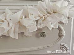 DIY Scrappy Fabric Bunting {Swap it Like it's Hot}