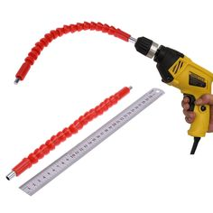 295mm Snake Flexible Shaft Link For Cordless Electric Drill Sscrewdriver Bit Sleeve Shaft Screw Driver Connecting Cardan Shaft