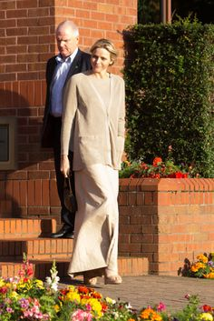Princess Charlene and Prince Albert of Monaco buy a bus for a school in Leeds - Photo 4 | HELLO!