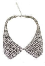 All Rhinestone Collars Necklace $9.8