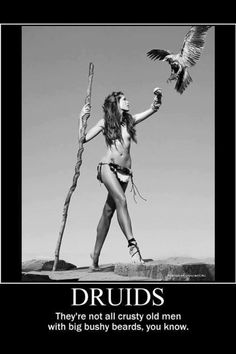 Druid woman ....beautiful and powerful  creature