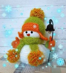SNOWMAN PATTEN in russian Crochet patterns Christmas patterns Christmas decorations Diy christmas decorations Christmas gift Handmade toy Crochet Christmas Ornaments, Christmas Crochet Patterns, Crochet Toys Patterns, Christmas Toys, Christmas Knitting, Russian Crochet, Snowman Decorations, Christmas Decorations, Cute Snowman