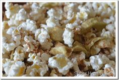 Apple Pie Popcorn Snack Mix