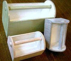 DIY Caddy for the kids (also thinking craft room organization)