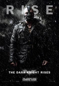 The Dark Knight Rises Bane Poster. #TheDarkKnightRises #poster #bane