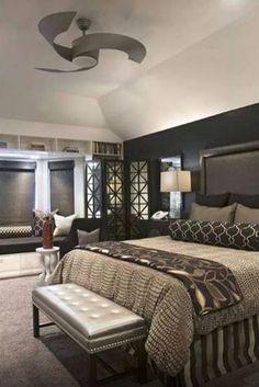 Wonderful Modern Art Deco Bedroom Inspirations - The Urban Interior Art Deco Bedroom, Master Bedroom Design, Bedroom Sets, Dream Bedroom, Home Bedroom, Modern Bedroom, Bedroom Decor, Bedroom Designs, Master Bedrooms