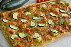 Sweet my Kitchen: Pizza de courgette