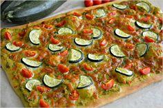 Sweet my Kitchen: Pizza de courgette