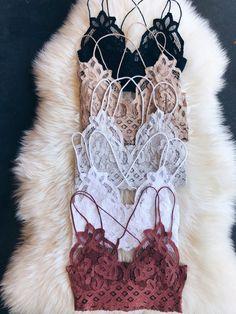 "Check out the free people ""Adella bralette"" on our website.Check out the free people ""Adella bralette"" on our website Cute Lingerie, Lingerie Outfits, Women Lingerie, Moda Lolita, Bras Best, Mode Boho, Trendy Swimwear, Lingerie Collection, Looks Style"