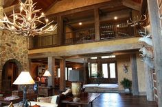 Concrete Log Homes!!!!    Nice huh?   I do believe I have found my dream living room!!!!!   Oh yea baby!!!  This is the product!!!!