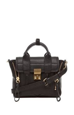 #styles 3.1 phillip lim|Mini Pashli Satchel in Black