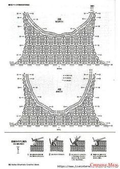 Quick and Easy Interlocking Beautiful Crochet Summer Tops Free Patterns 2019 - womenselegance. Débardeurs Au Crochet, Gilet Crochet, Mode Crochet, Crochet Collar, Crochet Shirt, Crochet Cardigan, Crochet Summer Tops, Crochet Halter Tops, Crochet Bikini