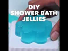 Bring The Fun to Bath Time With These DIY Shower Jellies - Shared