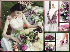 ❧ Collages de Thea Veerman ❧ Floral Creations...by Thea Veerman