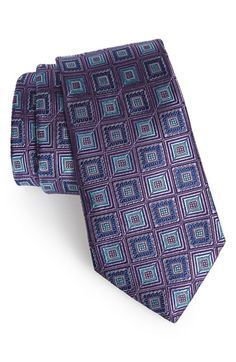 Men's Nordstrom '50/50' Medallion Silk Tie