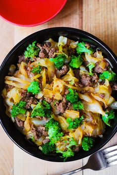 Asian Beef, Broccoli, and Cabbage Stir-Fry | Serve over Mahatma Jasmine Rice for a complete and tasty meal.