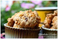 Cornflakes-Haferflocken-Rosinenkekse