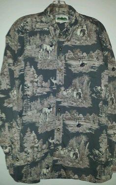 Mountain Tek - Men's,  size XL,  outdoor/deer shirt. Quality made. #MountainTek #ButtonFront