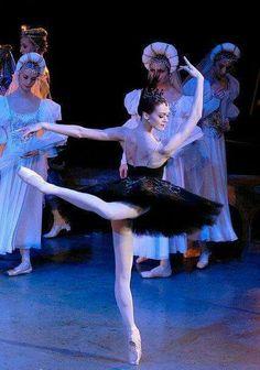 "<<Ulyana Lopatkina (Mariinsky Ballet) #""Swan Lake"">>"