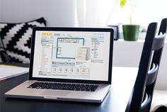 Portable avec outil de planification cuisine 3D à l'écran