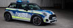 Los nuevos Mini 'grafiteados' que usará la policía de Alemania | EXPANSION