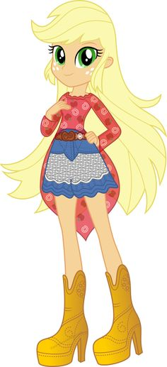 applejack-legend of everfree