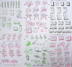 Icon Practice for Scribing | Practicing the Bikablo icons an… | Flickr