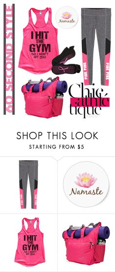 """Yoga pants"" by depolo-marina ❤ liked on Polyvore featuring mode, Apera, Crescent Moon Yoga en 60secondstyle"