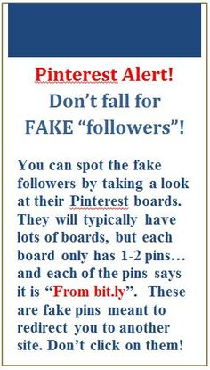 "Pinterest Alert - Don't fall for FAKE Followers. Before we add anyone to our #LIFETEAMS -  #John_Scott  Pin Boards #01-38, we make sure the Person wanting to help Pin will keep the Quality you expect on our Boards. Invited Pinners MUST Have Either 100 Followers or Have Pinned 200 Non-Spamming Pins on their Personal Profile...Then, we are Happy to add you. Just Comment on our ""ADD ME"" Board #00 under Any ADD ME Pin. Quality Pinners Welcomed!"
