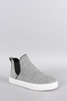 buy popular c00cc c9177 Qupid Textured High Top Slip On Sneaker. Stina Reh · Shoes · adidas  Originals Stan Smith ...