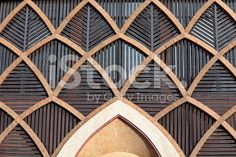 Modern arabic architecture royalty-free stock photo