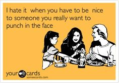 I hate two faced people | Oh... This is Awkward.: These things describe my life.