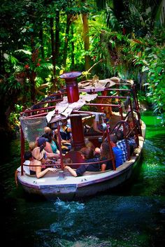 Disneyland – The World Famous Jungle Cruise Disneyland – El famoso crucero por la jungla Disneyland Rides, Disney Rides, Vintage Disneyland, Disneyland California, Disney Fun, Disney Magic, Disney Parks, Walt Disney World, Disney Stuff