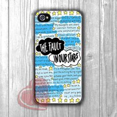 The Fault in Our Stars Quote - zd for iPhone 4/4S/5/5S/5C/6/6+s,Samsung S3/S4/S5/S6 Regular/S6 Edge,Samsung Note 3/4