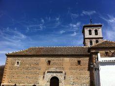 Niguelas Church In Lecrin Valley South of Granada