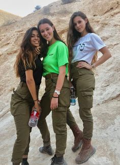 25 images of the hottest Israeli Defense Forces women who look just a good in fatigues as they do in bikinis!