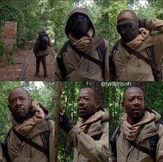 """Morgan Jones The Walking Dead """"No Sanctuary"""" 5x01"""