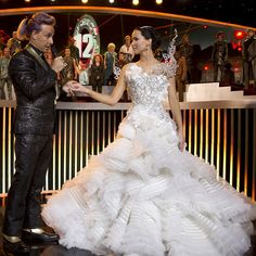 Is this Katniss's Catching Fire wedding dress?