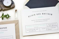 SAMPLE  Apothecary Letterpress Wedding by luckypennypaperie