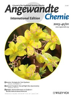 The Art of Synthesis and the beauty of Nature lure so many chemists into total synthesis. The cover picture shows yellow jasmine, from which the poisonous alkaloid gelsemine was isolated. From these syntheses, we can learn which strategies represent the fastest and/or most efficient routes to the target. More about this fascinating compound and organic synthesis at its best can be found in the Review by S. J. Danishefsky and H. Lin on pg. 36 ff. http://doi.org/b879bf