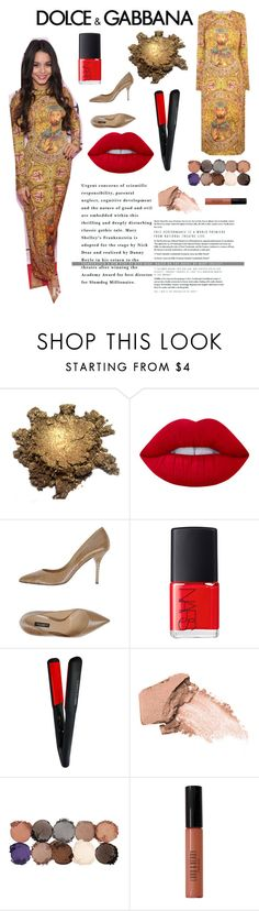 """""""🌻"""" by shilat759 ❤ liked on Polyvore featuring Dolce&Gabbana, Lime Crime, NARS Cosmetics, H2Pro, Urban Decay, NYX and Lord & Berry"""