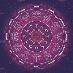 899b8bb69 16 Best Zodiac Circle images | Astrological sign, Zodiac signs, Aquarius