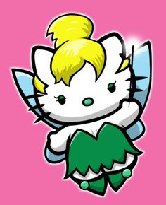 hello kitty tinkerbell | Mozquitoo: Hello Kitty As Different Characters