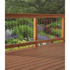DOLLE (Common: Actual: x x Insta Rail Gray Aluminum Deck Post at Lowe's. Insta-Rail vertical tube infill kit is perfect for any new or existing deck. Use the kit to update or add beautiful views to your railing system. Deck Balusters, Deck Railing Design, Balustrades, Patio Design, Railings For Decks, Porch Railings, Deck Railing Ideas Cheap, Outdoor Railings, Metal Deck Spindles