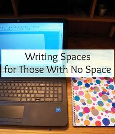 Writing Spaces for Those With No Space Writing Area, Writing Notebook, Start Writing, Writing Desk, Writing A Book, Writing Tips, Workspace Inspiration, Writing Inspiration, A Writer's Life